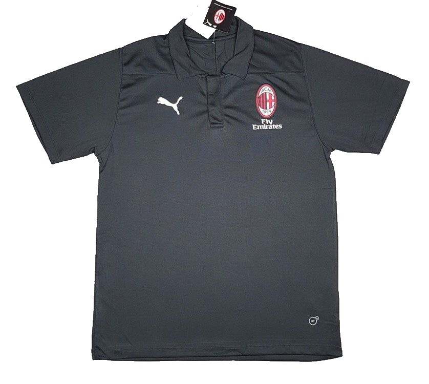 07889a919039654 Футболка поло Милан (FP0033) - Sport-X