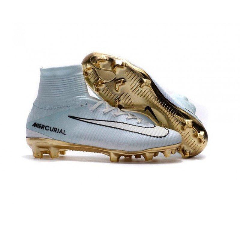 af09f792 Бутсы Nike Mercurial Superfly CR7 Vitórias FG, Голубой, Nike, Мужская,  Голубой,