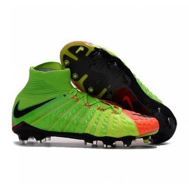 Бутсы Nike Hypervenom Phantom III FG Electric Green - Sport-X 830c7bb72cb84