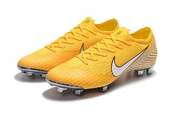 ee142306 Бутсы Mercurial Vapor XII Elite Neymar FG - Yellow, Жёлтый, Nike, Мужская,