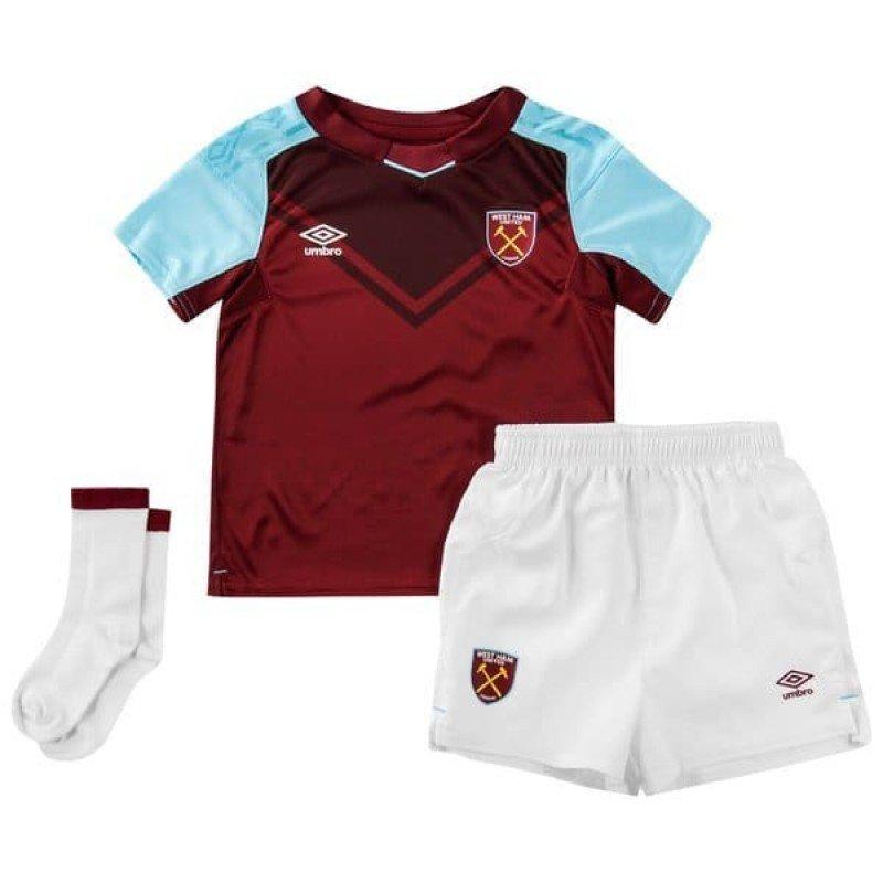Детская футбольная форма Вест Хэм домашняя (2017-2018), Umbro, Клуб, 1f9b5ecbcfc