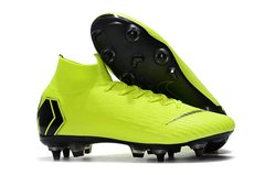 Бутсы Mercurial Superfly VI Elite Anti-Clog SG-PRO Green, Бордовый, Nike, 39