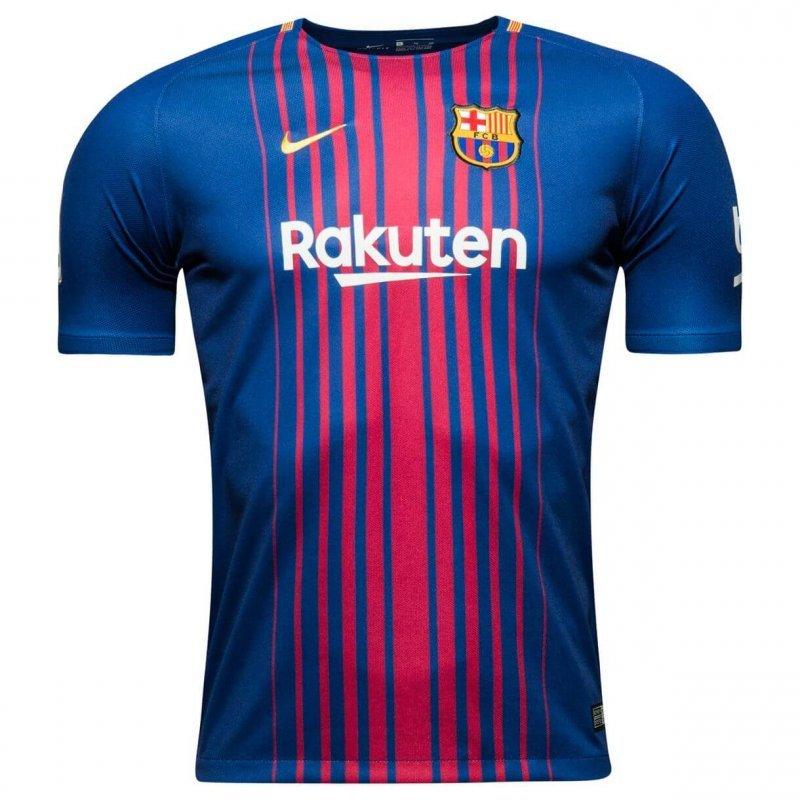 Футбольная форма Барселона домашняя (2017-2018), Nike, Клуб, Взрослая, 13d51f90e1b