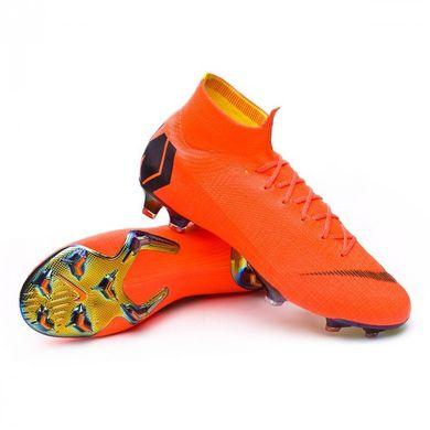 Бутсы Nike Mercurial Superfly 6 Elite FG, Nike, Мужская, Оранжевый, 39, 514102266f1