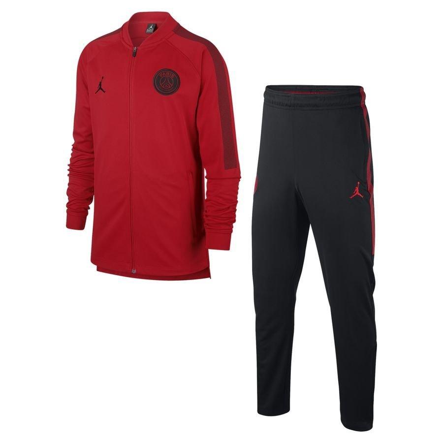 834291adf3a506 Тренировочный костюм ПСЖ 2018-2019 джордан, Красный, Красный, 2018/2019,