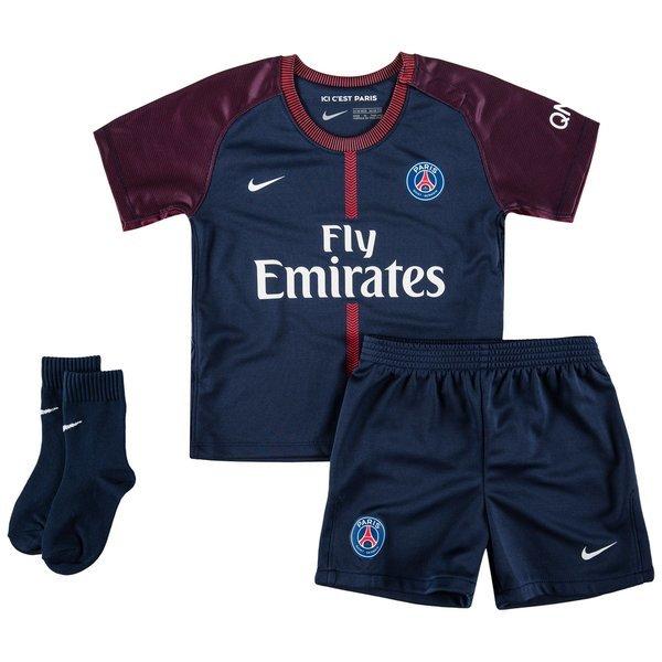 Детская футбольная форма ПСЖ домашняя (2017-2018), Nike, Клуб, Детская 061467350ea
