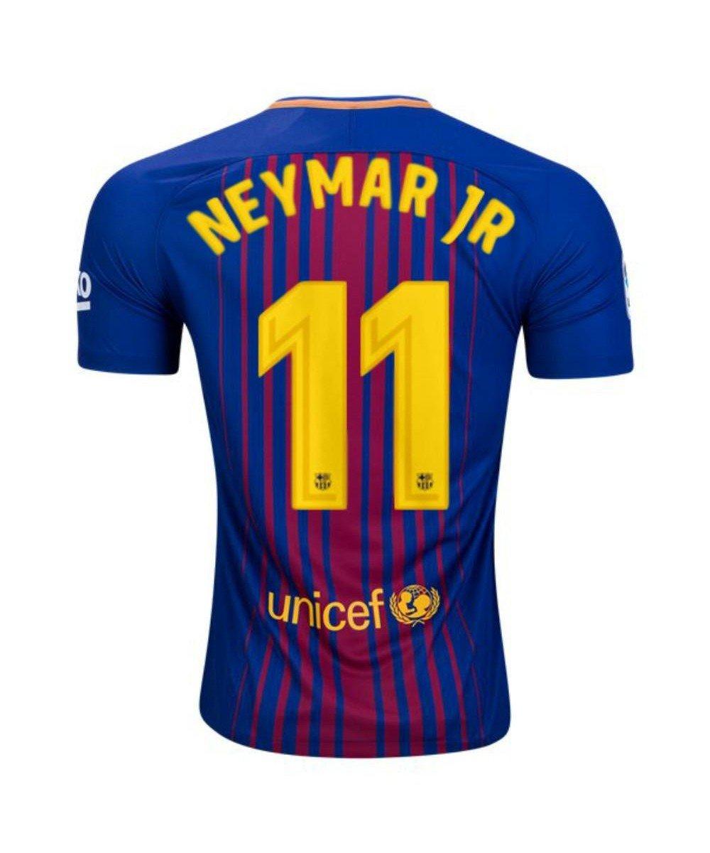 Футбольная форма Барселона домашняя Неймар (2018-2019), Nike, Клуб, Взрослая 1e9d83670b7