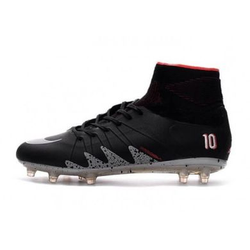 d1411461 Бутсы Nike Hypervenom Phantom II Neymar x Jordan FG Black, Черный, Nike,  Мужская
